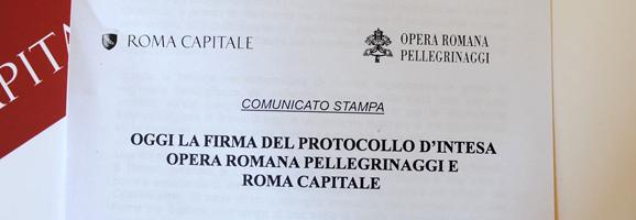 Opera Romana Pellegrinaggi: protocollo d'intesa