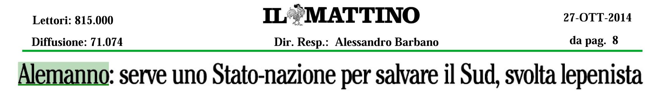 20141027INTERVISTAILMATTINO