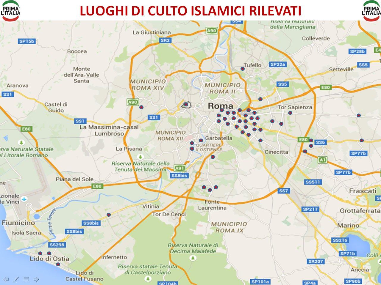 Luoghi di culto islamici a Roma - jpeg
