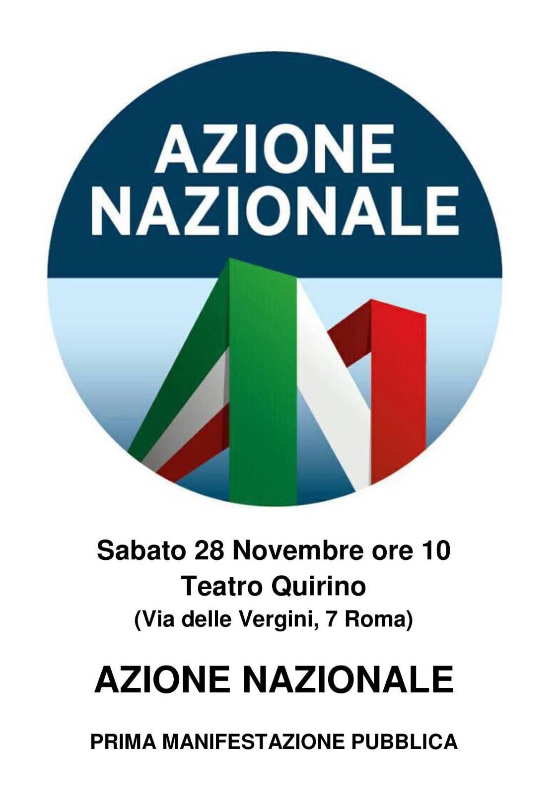 Manifestazione Azione nazionale